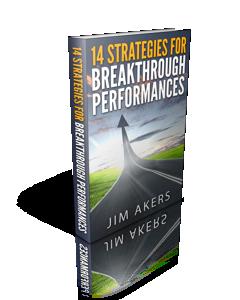 Book Cover.Breakthough Performances.3D